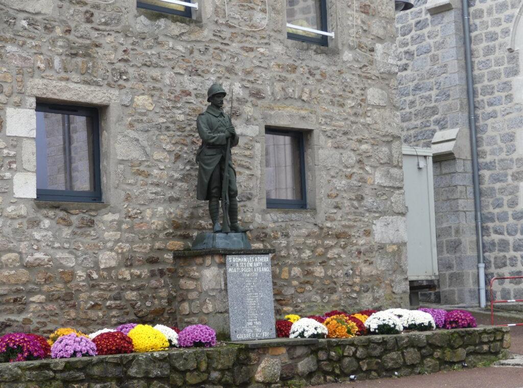 Eclairage du monument aux morts