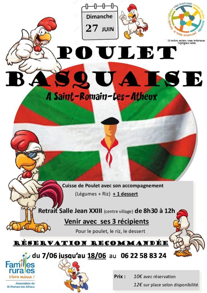 Vente Poulet Basquaise