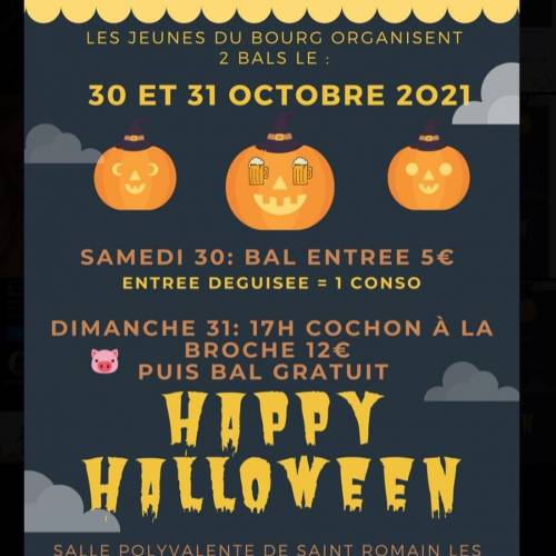 Week-end Halloween